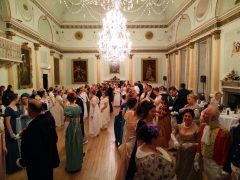 Jane Austen Festival Summer Dance, Bath Guildhall